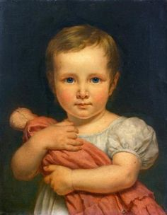 Robert Lefèvre 1755-1830 . with a doll