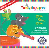Cha, Cha, Cha - French Learning Songs CD is a fun and educational resource from Whistlefritz to help young children learn French! Spanish Notes, Spanish Music, Learning Spanish, Spanish Class, Latin Music, Preschool Spanish, Study French, French Kids, Learn French