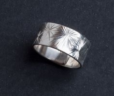 Emma Cotton - Galaxy Carve Ring - Silver Contemporary Jewellery, Rings For Men, Silver Rings, Carving, Fine Art, Jewels, Stone, Diamond, Artist