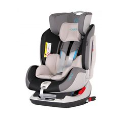 Scaun auto Coletto Vento cu Isofix kg, Grey - eMAG. Baby Car Seats, Grey, Children, Blue, Kids, Gray, Repose Gray, Kid, Kids Part