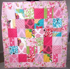 Its A Hoot Baby Girl Quilt