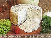 #Handmade cheese from Hungary  Házisajtok a tündérek asztaláról - Kapros gomolya sajt