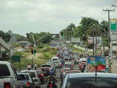 Você acaba de acessar o site: As mazelas do Recife: Obras na PE-15, vem causando transtorno