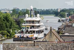 Live from Holland: 70m Joy departs Feadship   SuperYacht Times