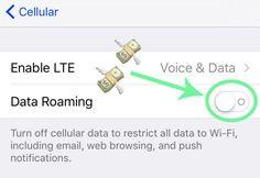 Turn data roaming OFF!!! | 15 Phone Hacks Every Traveler Needs To Know