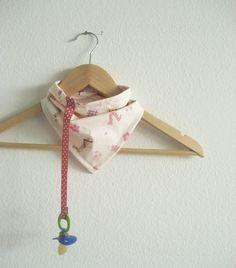 baby bandana/ paci holder!