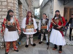 """Folklore Music and Dance Association """"Arkadi"""" of Rethymno, Crete, at the event Homage to the Heroes of Messolonghi 2013"""