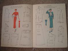 Vintage Haslam System of Dresscutting coronation number 1937 | eBay