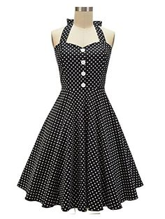 /'Aura/' Classic Serenity Vintage 1950/'s Pinup Full Circle Rockabilly Swing Dress