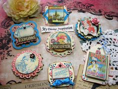 Come Away with Me Handmade Scrapbook by mydivineinspiration, $5.49