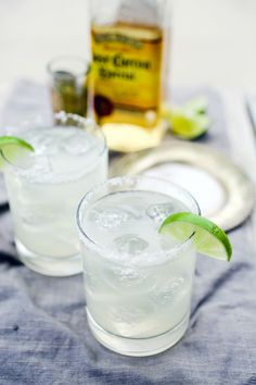 Get the fresh taste of a genuine margarita with this quick and easy margarita on the rocks recipe. Both your taste buds and your friends will thank you!