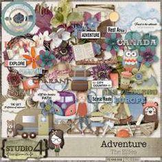 Digital Art :: Element Packs :: Adventure - The Ellies by Designworks Adventure Of The Seas, Nature Adventure, Purple Themes, Elements Of Art, Site Design, Traditional Art, Digital Scrapbooking, Digital Art, Spirituality