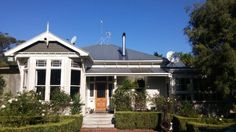 Our 1906 double bay villa Villa, Mansions, House Styles, Happy, People, Animals, Home Decor, Animaux, Luxury Houses