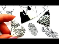 DIY Brooch | Stylish Mountains - Polymer Clay Tutorial - YouTube
