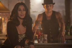 Still of Cher and Cam Gigandet in Burlesque