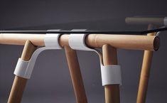designdaily.. on Instagram: Bamboo Pole  Varnished Bamboo Joint.   LASAH TRESTLE LEGS created by Shahril Faisal Design @shahrilfaisal   Pract