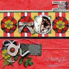 created using Sundrenched by Southern Serenity Designs Extraordinary Xmas {Kit} by Valentina's Creations