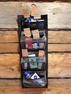 Bathroom Basket Wedding, Bathroom Baskets, Magazine Rack, Survival Kit, Storage, Home Decor, Ideas, Toile, Purse Storage