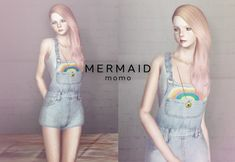 Rainbow Jumper by Momo - Sims 3 Downloads CC Caboodle