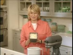 Martha Stewart makes what she considers the world's best vanilla ice cream using a Donvier.