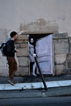 Featuring Creative Street Art by Charles Leval