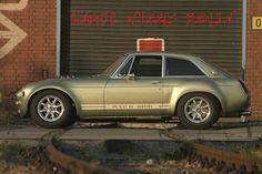 Custom MGB GT V8