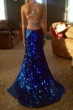 Prom dress open back mermaid prom dress mermaid dresses sparkle sparkly dress blue dress dress sequin Blue Sequin Dress, Royal Blue Prom Dresses, Mermaid Prom Dresses, Homecoming Dresses, Sparkly Dresses, Quinceanera Dresses, Dance Dresses, Elegant Dresses, Beautiful Dresses