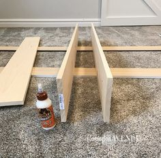 The easiest DIY wood mantel ever! I'm not a pro, but this mantel looks so good! Come join me for a fun tutorial and inexpensive project! Diy Fireplace Mantel, Build A Fireplace, Wood Mantle, Brick Fireplace Makeover, Rustic Fireplaces, Fireplace Remodel, Fireplace Ideas, Painted Fireplaces, Mantle Ideas