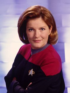 Star Trek: Voyager  Kate Mulgrew as Capt. Kathryn Janeway