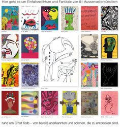 Welcome to a collection of outsider art Organic Structure, Web Gallery, Art Brut, Outsider Art, The Outsiders, Presents, Artist, Inspiration, Board