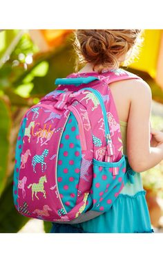 74a1e57e9aa2 Backpack Jr. ~~ Girls durable backpack  garnethill  ponybackpack Big  Backpacks
