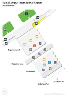Ord O Hare International Airport Terminal Map American