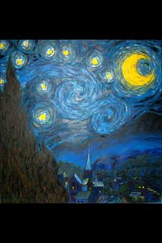 My Starry Night. Love Van Gogh.