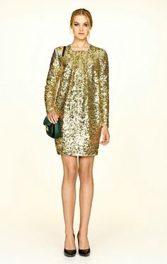 Malene Birger gold dress