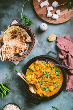 Matar Paneer - One of the most popular Indian Vegetarian Dishes