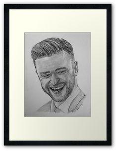 Justin Timberlake Hand Drawn and Framed Ali Larter, Graphite Drawings, Actress Christina, Sylvester Stallone, Justin Timberlake, Artwork Design, Christina Hendricks, Tag Art, Britney Spears