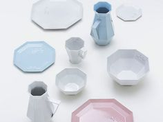 This beautiful ceramic collection is the result of the Mother Lake Products Project initiative, which pairs creators in Tokyo with artisans from the Lake Biwa region in Shiga Prefecture.