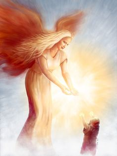 Guardian Angels are created by God to guide and protect humans.