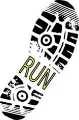 Take a Hike Shoe Print clip art - vector clip art online, royalty free . Half Marathon Shirts, Dancer Silhouette, Running Club, Running Guide, Locker Decorations, Cross Country Running, Kundalini Yoga, Trail Running Shoes, Hiking Shoes