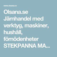 Olsana.se Järnhandel med verktyg, maskiner, hushåll, förnödenheter  STEKPANNA MAESTRO 25 CM RF-HTG