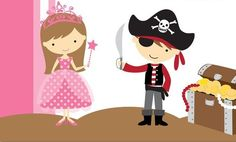 Princess and Pirate Playdate!