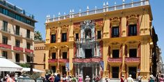 #Málaga #BishopsPalace / All places of interest you'll find here: http://www.amazon.co.uk/M%C3%A1laga-Capital-Coast-Brigitte-Hilbrecht/dp/1517300533/ref=sr_1_1?s=books&ie=UTF8&qid=1456574193&sr=1-1&keywords=malaga