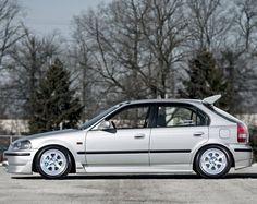 Anyone ever seen an EK sedan hatch? Honda Sedan, Honda Civic Coupe, Honda Civic Hatchback, Honda Crx, Civic Sedan, Honda Motorsports, Ek Hatch, Civic Eg, 2000 Honda Civic