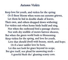 Christina Rossetti, Autumn Violets. 💞🌍🌎🌏💞 Reference: Christina Rossetti, Selected Poems of Christina Rossetti, Introduction and Notes by Katharine McGowran, The Wordsworth Poetry Library, 2001. Female Poets, Christina Rossetti, English Poets, Famous Poems, Kids Poems, Beautiful Poetry, Sweet Violets, Unique Names, Mixed Feelings
