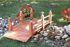 55 Backyard Bridge Ideas: Tranquil Perspective for Your Landscape