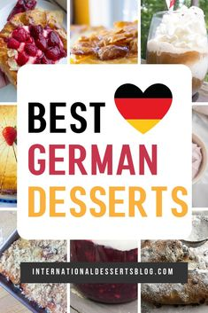 These easy and authentic recipes from Germany are sure to please family and friends (including your kids). Traditional cookies cake (Kuchen) gluten free for Christmas birthday and more! Dessert Blog, Dessert Recipes, Dinner Recipes, Dessert Ideas, Dinner Ideas, German Desserts, German Recipes, Bavarian Recipes, Croatian Recipes