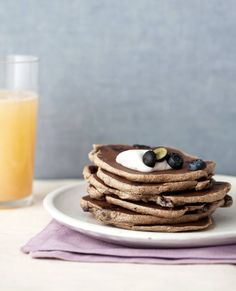 """When you want pancakes for breakfast or dinner, try these. These pancakes are the real deal. They have a maple-pecan flavor and the fluffy texture of real pancakes. Since they're dehydrated ahead of time, keep some on hand for a quick breakfast or dinner.Adapted from """"Raw Food For Everyone"""" by Alissa Cohen."""