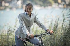 Frauen - Fahrrad- und businesstaugliche Mode - Jürgen Brand - Fair Fashion - Manufactured in Austria Business Outfit, Bicycle, Womens Fashion, La Mode, Woman Outfits, Bicycle Kick, Bike, Trial Bike, Women's Clothes