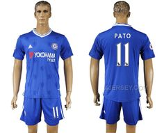 http://www.xjersey.com/201617-chelsea-11-pato-home-soccer-jersey.html 2016-17 CHELSEA 11 PATO HOME SOCCER JERSEY Only $35.00 , Free Shipping!