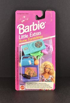 Barbie Little Extras Home Furnishings by SmilingMemories on Etsy